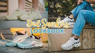 hot sale online 6df6b bf525 Dad Sneakers AUGUST Lookbook  Fila, Yeezy, Nike