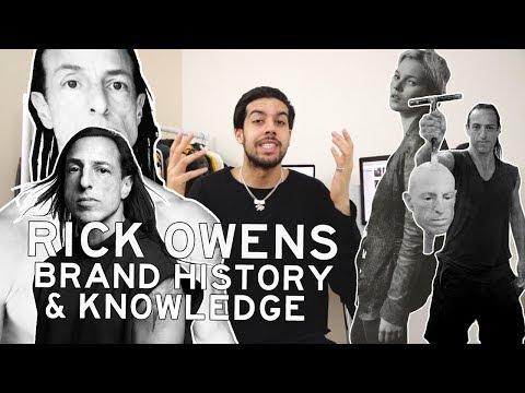 Rick Owens - Brand History & Knowledge