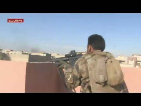 Iraq: On the frontline of the battle for Mosul with Iraqi special forces