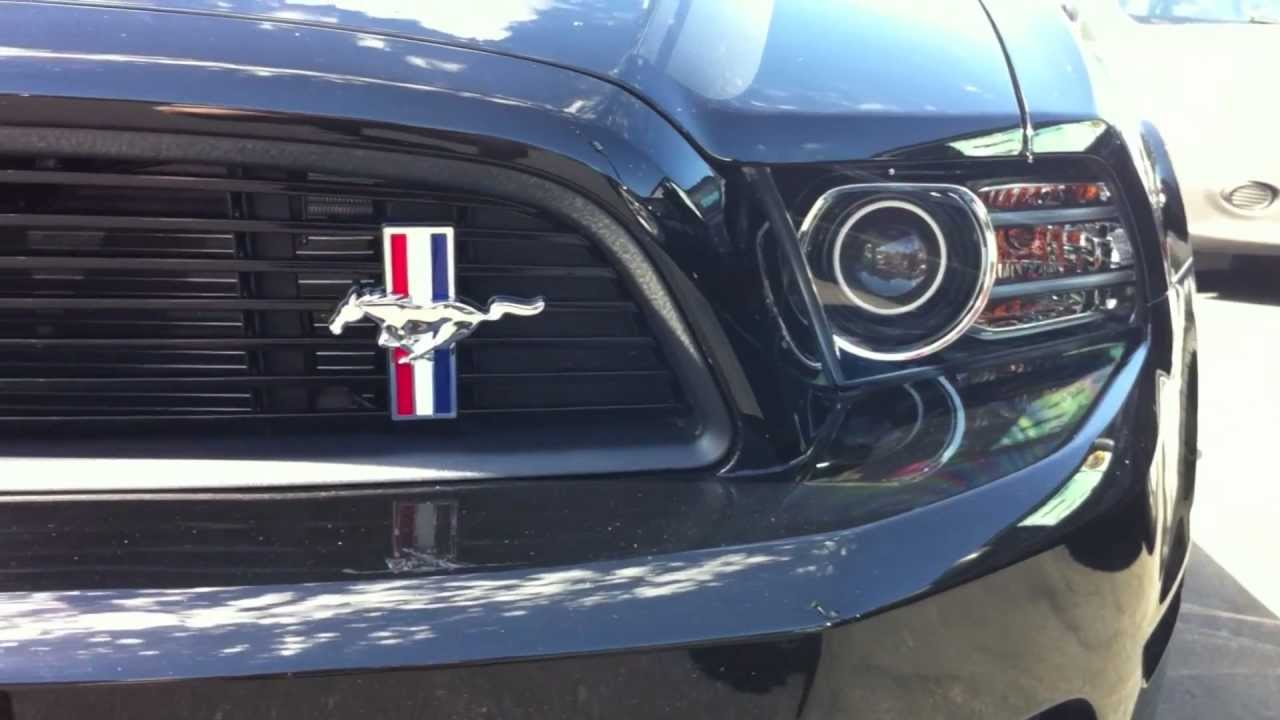 2013 Ford Mustang GT California Special  YouTube