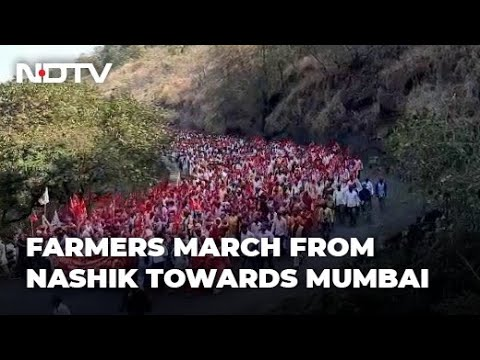 Farmers Protest: Thousands March To Mumbai To Protest Farm Laws, Sharad Pawar To Join Farmers Protest: Thousands of farmers from 21 districts of Maharashtra - among tens of thousands across India who are protesting against the centre's new ..., From YouTubeVideos