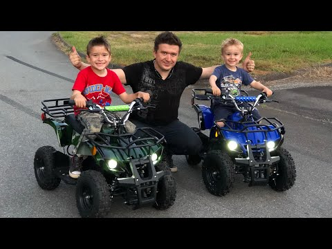 i-bought-my-kids-2-rosso-motors-atv-for-kids-quad-4-wheeler-ride-from-amazon-unboxing-and-review