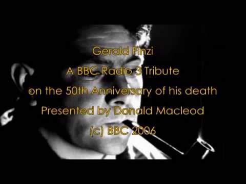 Gerald Finzi Biography - A 50th Anniversary Tribute from BBC Radio 3 - (c) BBC 2006