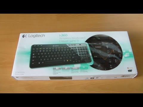 Unboxing & First Look: Logitech Wireless Keyboard K360