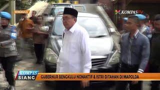 Download lagu Gubernur Bengkulu NonaktifIstri Ditahan KPK di Mapolda MP3