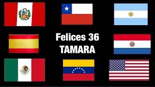 Felices 36 Tamara