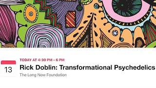 Rick Doblin: Transformational Psychedelics