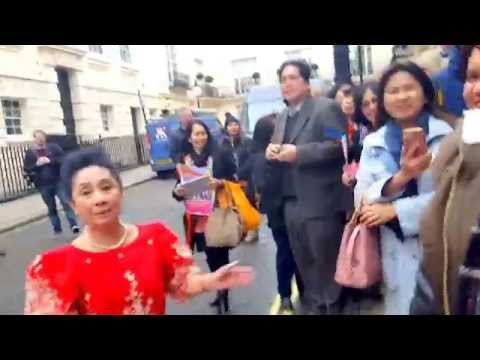 4th impact arrival at the Philippine embassy Londo