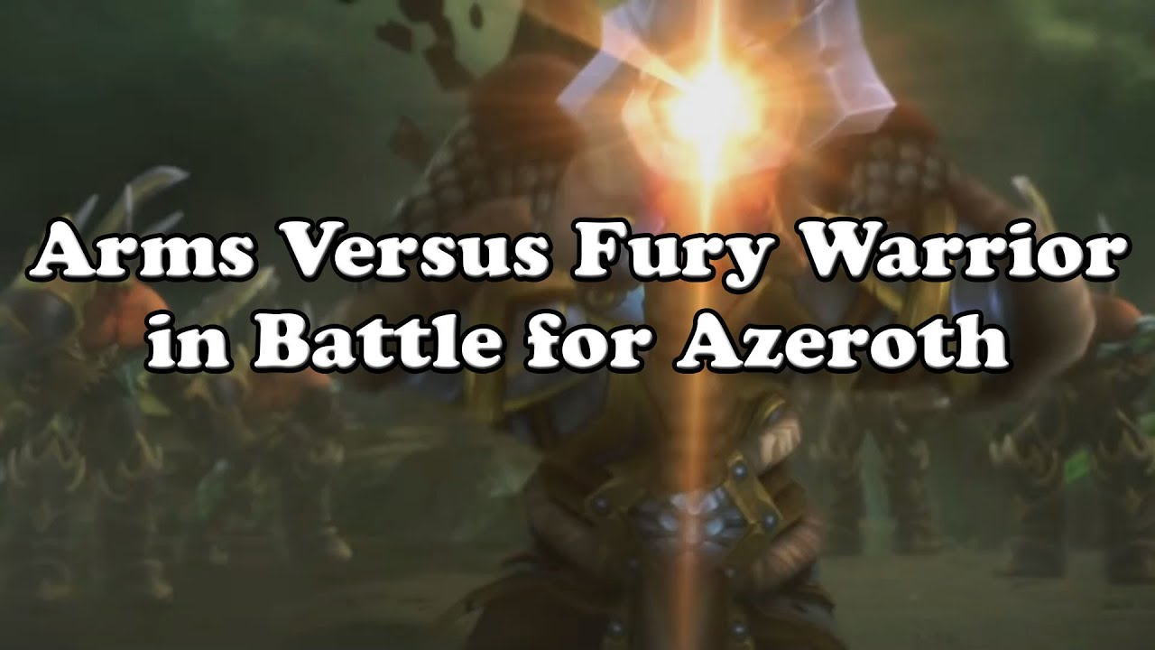 Blog — Fury Warrior DPS Guide (Patch 8 2)