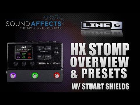 Line 6 HELIX HX STOMP Overview & Presets w/ Stuart Shields