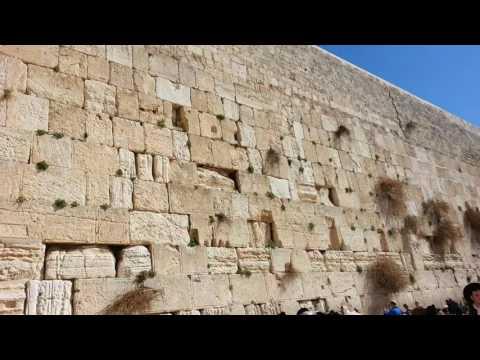 Wailing wall.