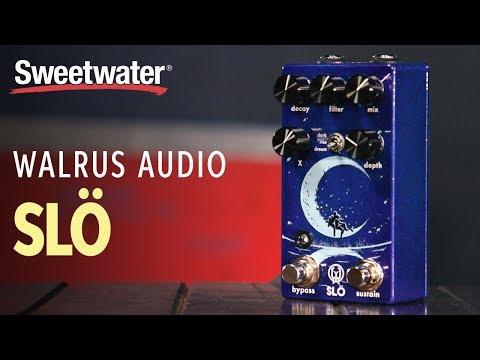 Walrus Audio Slö Multi Texture Reverb Pedal Demo