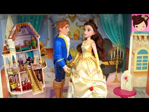 Princess Belle Dancing Doll Morning Routine in The Castle - Dance Code Belle - Titi Toys