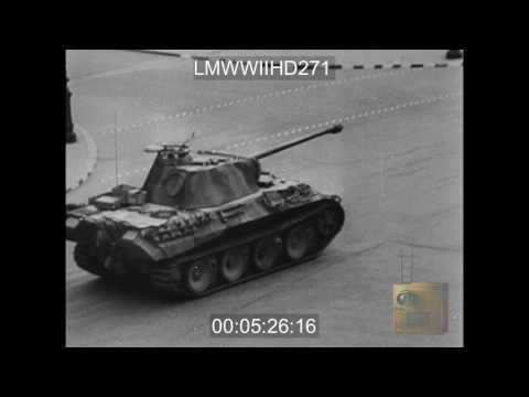 THE FRENCH CAMPAIGN, 1944; REEL 2 SHOWS THE FIGHTING IN NORMANDY AND THE CAPTURE OF CH - LMWWIIHD271