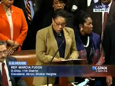Rep. Fudge Asks for the Removal of Rep. Issa as Chair of Oversight Committee