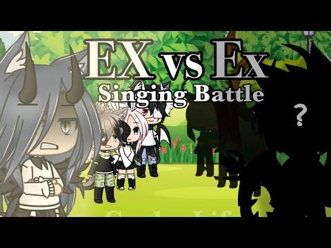 Singing Battle ||Gacha Life|| (Ex Vs Ex)