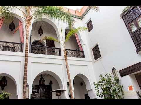 Elegant Riad Guesthouse For Sale Marrakech