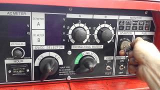 Used: Shindaiwa Diesel Welder Generator