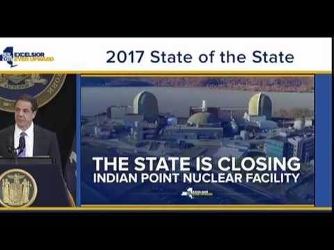 Gov Andrew Cuomo Announces Indian Point Will Close Ahead Of Schedule 1/9/17