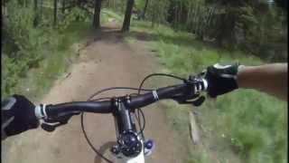7 Bikes 1 Truck - Mountain Biking Rampart Reservoir