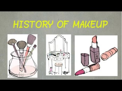 History of Makeup - YouTube - history of makeup