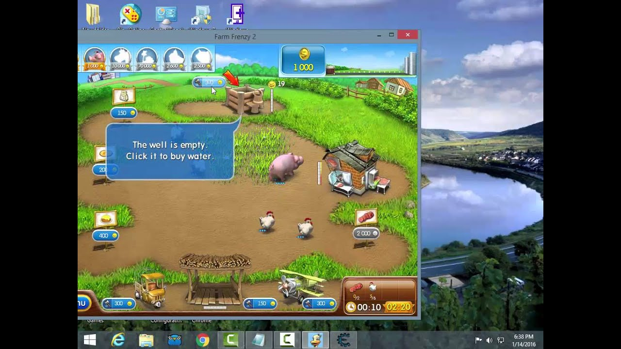 How to hack Farm Frenzy 2 Coins