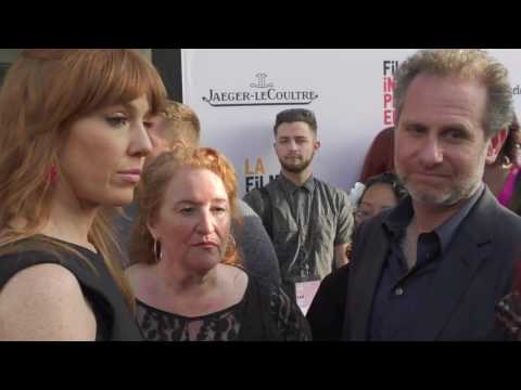 2016 Los Angeles Film Festival  Carpet Chat with Kate Nowlin, Rusty Schwimmer & Remy Auberjonois