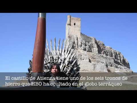 El castillo de Atienza tiene uno de los seis tronos de hierro que HBO ha ocultado en el mundo