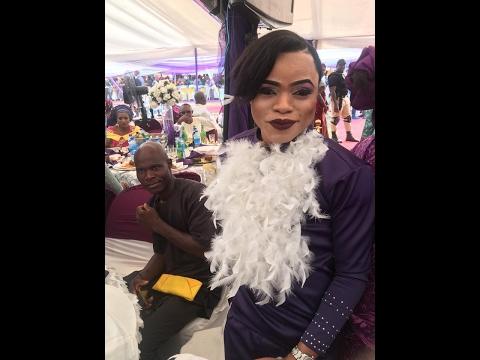 Bobrisky, Kenny Ogungbe, Jimmy Jatt, Saidi Balogun, Lizzy Anjorin attend Femi Bakre mother's burial