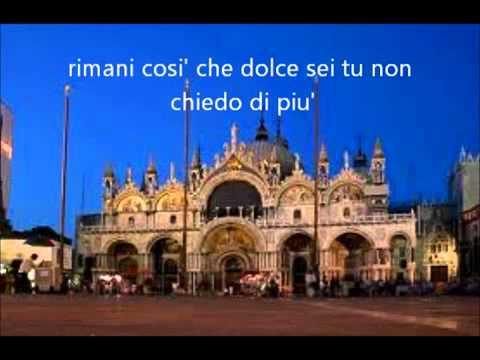 Gelato al Cioccolato   Pupo With Lyrics