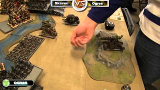 Ogres vs Skaven Warhammer Fantasy Battle Report - Fantasy League Ep 7