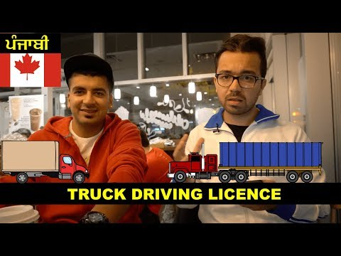 How To Become Truck Driver In Canada Licence Requirements Punjabi