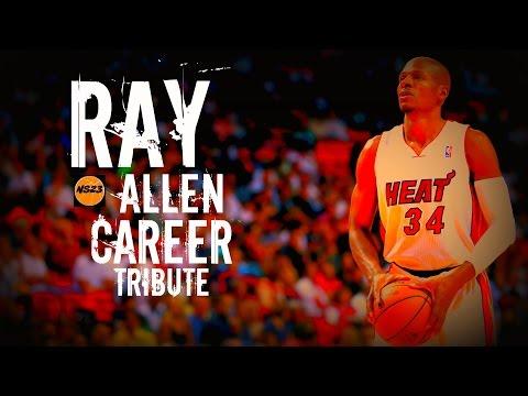 Ray Allen Career Tribute - SideLine Watching