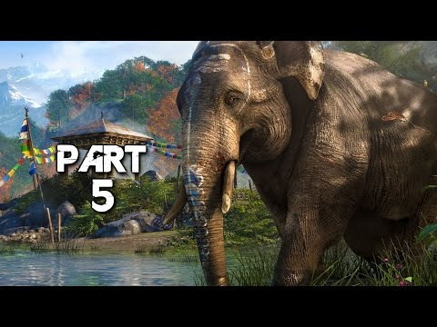 Far Cry 4 Walkthrough Gameplay Part 5 Elephants Campaign Mission 5 Ps4 Youtube