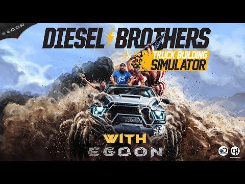 Diesel Brothers Truck Building Simulator Game | First Look | Tutorial #dieselbrothers |