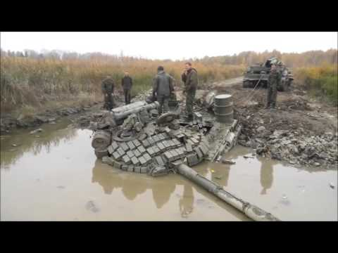 танк русни утонул-это