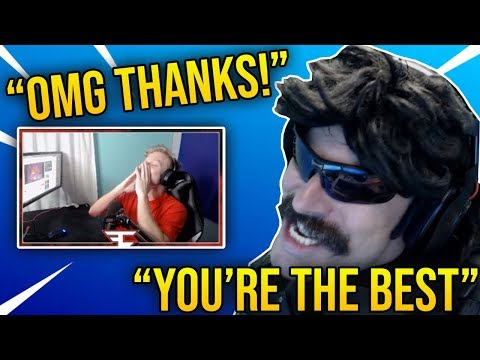 Tfue Reacts To DrDisRespect Calling Him The *BEST* Fortnite Player in the World