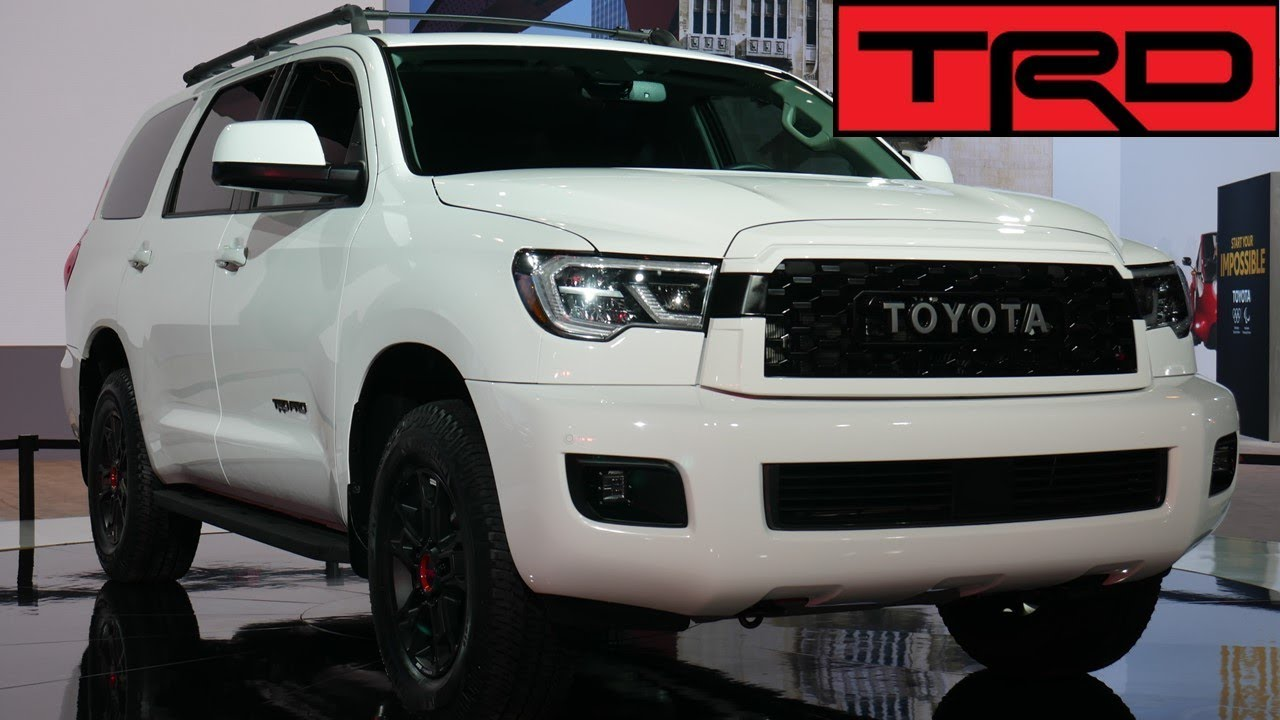2020 Toyota Sequoia TRD Pro Revealed - YouTube