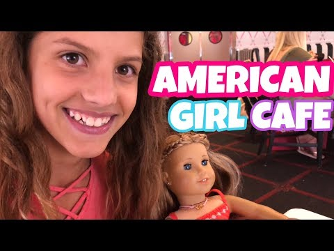 American Girl Goes To American Girl Cafe