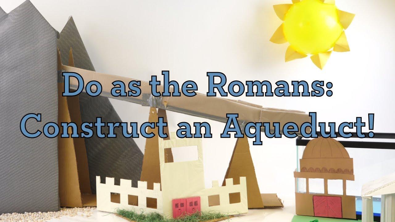Do as the Romans: Construct an Aqueduct! - Activity - TeachEngineering [ 720 x 1280 Pixel ]