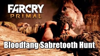 Far Cry Primal Bloodfang Sabretooth Hunt Tame the bloodfang sabretooth at nightfall