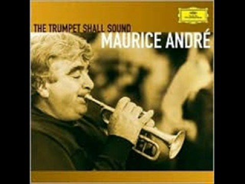 Maurice Andre plays Telemann Concerto in D Major - Adagio
