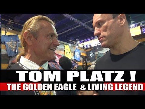 The Golden Eagle TOM PLATZ! | 2016 Mr.Olympia Expo!