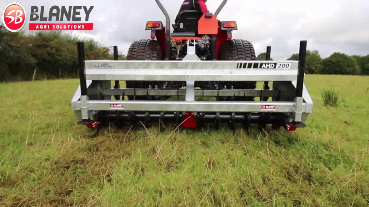 Blaney Agri - 2m Aerator/Slitter