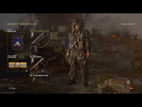 Call Of Duty WW2 All New Custom Classes, Attachments, Guns  And New Features!