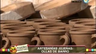 Elaboración artesanal de ollas de barro