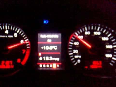 Audi A6 32 FSI Quattro acceleration 060 MPH  YouTube