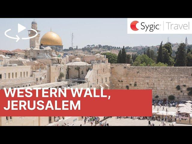 360 video: Western Wall, Jerusalem, Israel