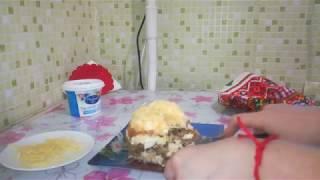 Возбуждает аппетит/Тёплый салат с курицей и грибами/Едим дома/Сам себе повар/Домашняя кухня