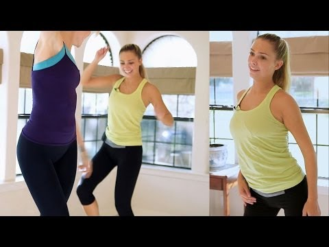 Fun Beginners Dance Workout For Weight Loss – At Home Cardio Exercise Dance Routine